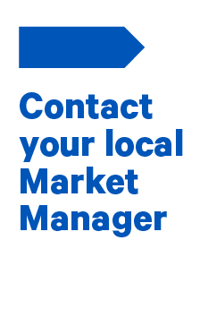Contact one of our Market Managers